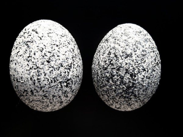 Granit white Duo Ostereier