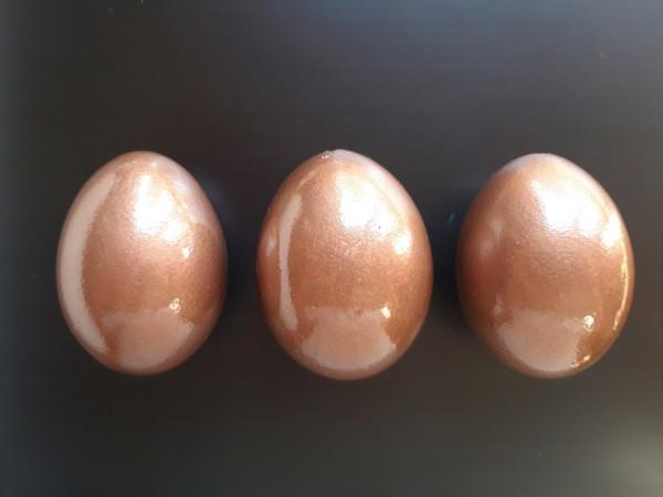 Kupfer Trio Ostereier