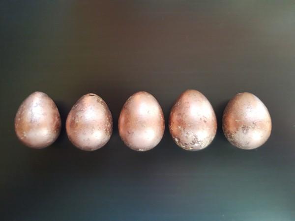 Wachteleier Kupfer Ostereier